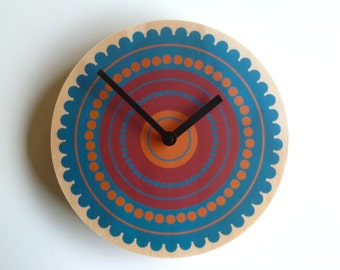 Objectify Circles Wall Clock