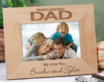 World's Greatest Wood Picture Frame -gfy92842X