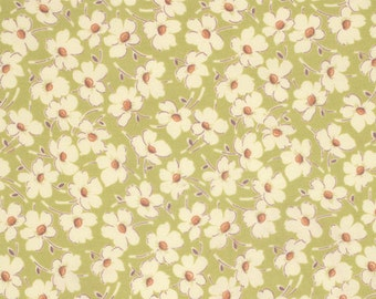 11220 - Amy Butler Gypsy Caravan collection PWAB086 Wind fowers in linen color  - 1 yard