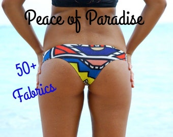 Kaisers REVERSIBLE Brazilian Bikini Bottoms - Create Your Own