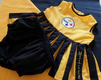 Infant/Toddler Cheerleader Uniform