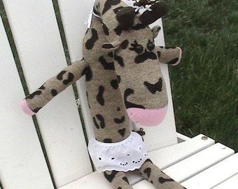 Gigi the Sock Giraffe