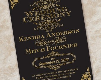 wedding invitations vintage wedding invitations cranberry  etsy, Wedding invitations
