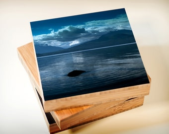 Bamboo Block, wall art, nautical, living room, bathroom, original, photography, mountain, outdoor, print, hike, NW, olympic, landscape
