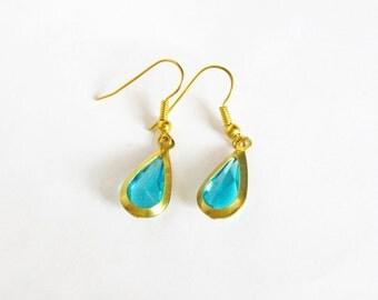 The Legend of Zelda Inspired: Blue Drop Earrings