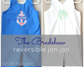 The Bradshaw Reversible Jon Jon- Instant Download