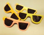 Cookies  - Sunglasses Sugar Cookies  - 3.75 each - Any color - Party Favor - Gift