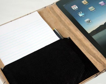IPad Air 2 3 4 Mini Kindle Nook Samsung Tab Kobo Asus Case with pocket and holder Ipad Case Accessory Add on item only