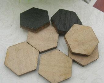 10 pcs  - 15mm Laser Wood Cut  Charms,Wooden(WL-10)