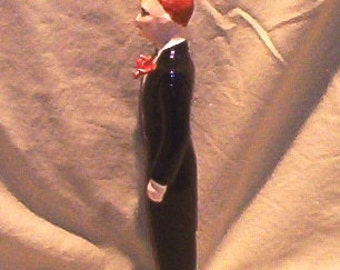 Figurine Porcelain C Mallory Tuxedo Tux Groom  Man 1951