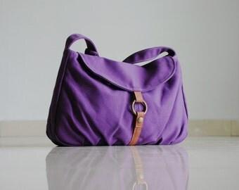 Handbag, On SALE - Purple, Laptop bag, Shoulder Bag, Messenger Bag, Cross body Bag, School Bag, Women, For Her, Gift,  40% OFF