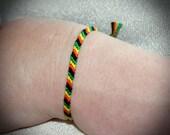 Aromantic Asexual Pride Friendship Bracelet Romantic Attraction LGBTQ Jewelry thin