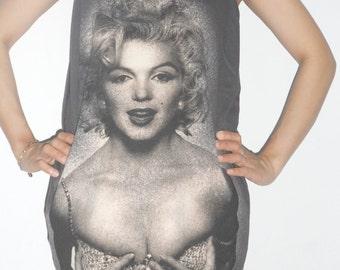 Marilyn Monroe Singlet Tank Top T-Shirt Mini Dress