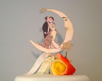 redhead wedding cake topper popular items for deco cake topper on etsy 19127