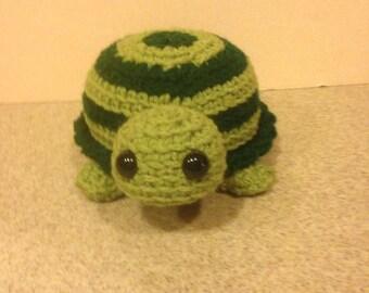 Crochet Stuffed Turtle