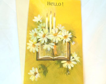 Vintage Friendship Card Paper Ephemera Unused Envelope 70's (item 12)