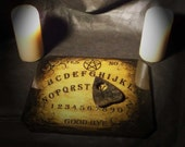 Lord Mocks Small Dark Planchette(Spirit Pointer)