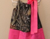 Mossy Oak Pillowcase Dress size 3T