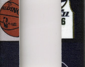 Utah Jazz Single Decora Light Switch Plate