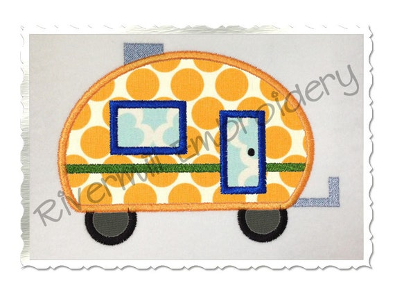 Cool RV MOTORHOME Embroidery Designs Machine Embroidery Designs At