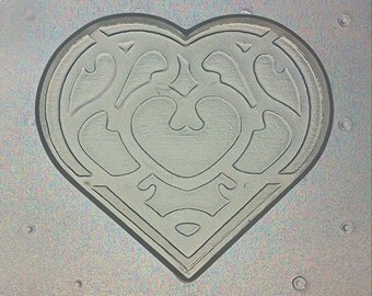 Flexible Resin Mold Heart Container Mould