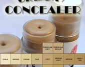 SAMPLES Choose Three (3) Creamy UNDEREYE CONCEALER your choice - sweatproof, crease-resistant, moisturizing base, longwearing, 1 g