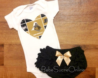 Purdue University Girls Outfit