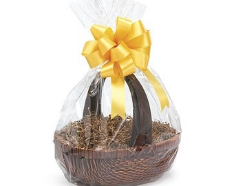 """18""""x24"""" Round Bottom Crystal Clear GIFT BASKET BAGS Cello Drop-in (You Choose Qty!)"""