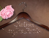 Hanger of Mothers for your wedding pictures, Personalized custom bridal hanger, brides hanger, Bridal Hanger, Wedding hanger, Bridal