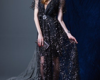 Stardust Night Dress 50% Off Sample Sale
