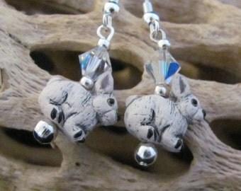 Bunny Rabbit Earrings