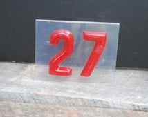 Vintage Handmade House - Lucky Number 27