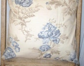 Decorative Throw Shabby Chic Pillow Cover 16x16 inch Couch Pillow Slip Cover/ Moda Athill Range