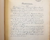 Antique 1862 French naval artillery book, rare collector's item