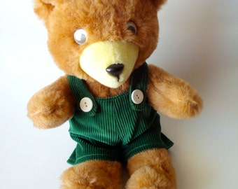 Vintage Corduroy the Bear Stuffed Animal by Trudy, Don Freeman
