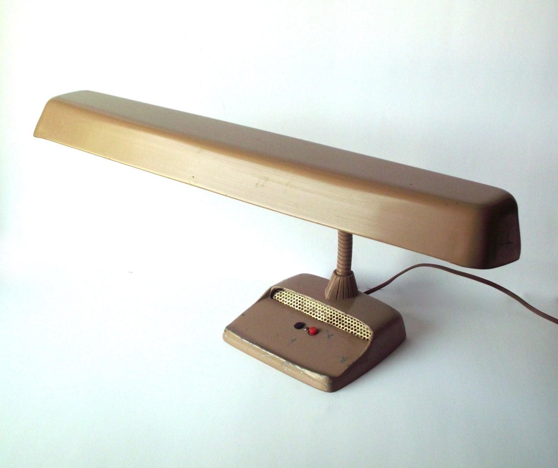 Vintage Marks Deluxe Lamp Fluorescent Desk Lamp Industrial