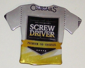 T-Shirt Magnet - Clubtails Screw Driver Can
