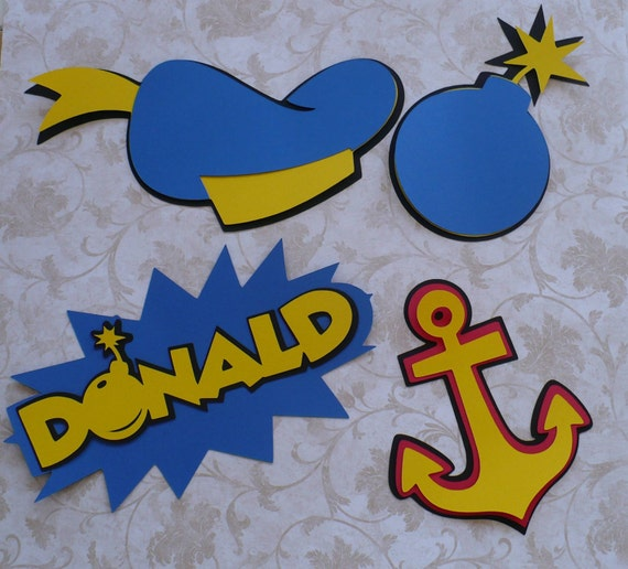 how to make donald duck