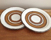 Earth Dinnerware Midwinter Stonehenge Pottery  7 inch Plates