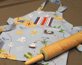 Kids Pirate Apron