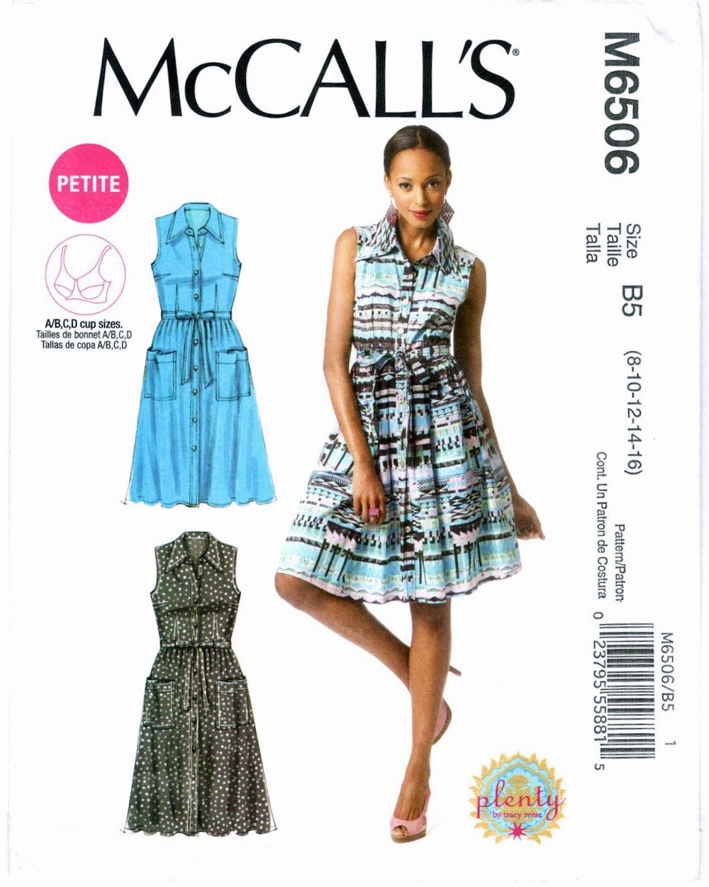 Plenty by Tracy Reese shirt dress pattern M6506