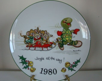 Suzy's Zoo Christmas Plate