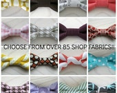 Custom men's bow tie, groomsmen, father's day gift idea, father son sets - choose from any fabric in shop, bowties in newborn-adult sizing