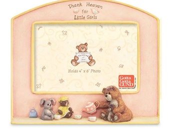 Thank Heaven for Little Boy or Girl picture frame