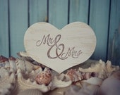 Mr and Mrs add on sign-sign-Mr and Mrs.-beach wedding-wedding cake topper