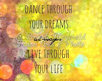 Color Your Life Quotes Alluring Live Your Life Etsy