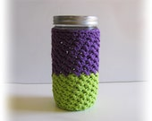 Pint & Half Cozy size Mason jar - cup - drinking glass - gift container