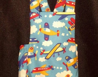 Colorful Airplanes on Baby Romper-Sunsuit - Perfect for summertime