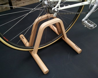 Pont   Floor Bicycle Stand / Wooden Floor Bike Rack