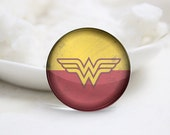10mm 12mm 14mm 16mm 18mm 20mm 25mm 30mm Super Hero-Handmade Round Photo glass Cabochons (P2690)